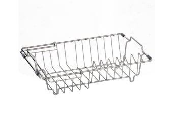 Savannah Stainless Steel Expandable Dish Rack 35.5x26.5x11.5cm
