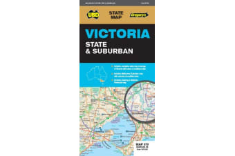 Victoria State & Suburban Map 370 29th ed