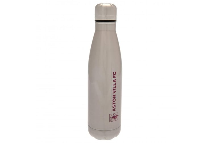 Aston Villa FC Thermal Flask (Silver) (One Size)