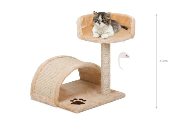 Pawever Pets Cat Scratching Post Tree (Small)