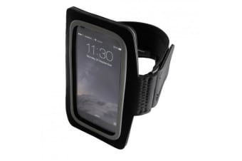 Tri Dri Fitness Armband Mobile Phone Holder (Lightning Yellow) (One Size)
