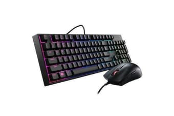Cooler Master Masterkeys Lite L Keyboard with Mouse Mem-chanical(Exclusive Switch)  RGB backlite