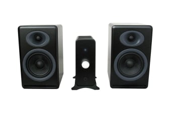 Audioengine N22 Amplifier & P4 Speaker Pair (Satin Black) Bundle