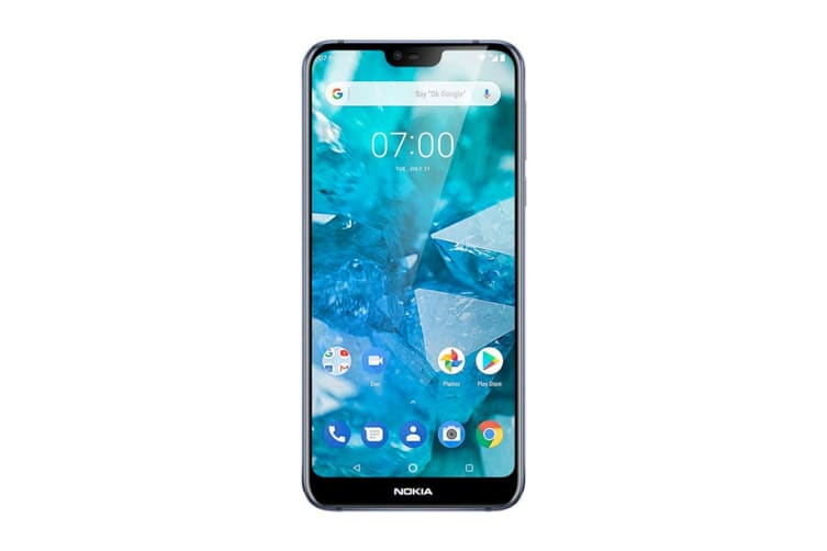 Nokia 7.1 (64GB, Midnight Blue)