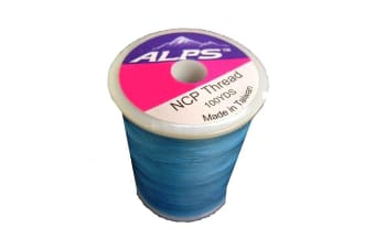 Alps 100yds of Sky Blue Rod Wrapping Thread - Size A (0.15mm) Rod Binding Cotton