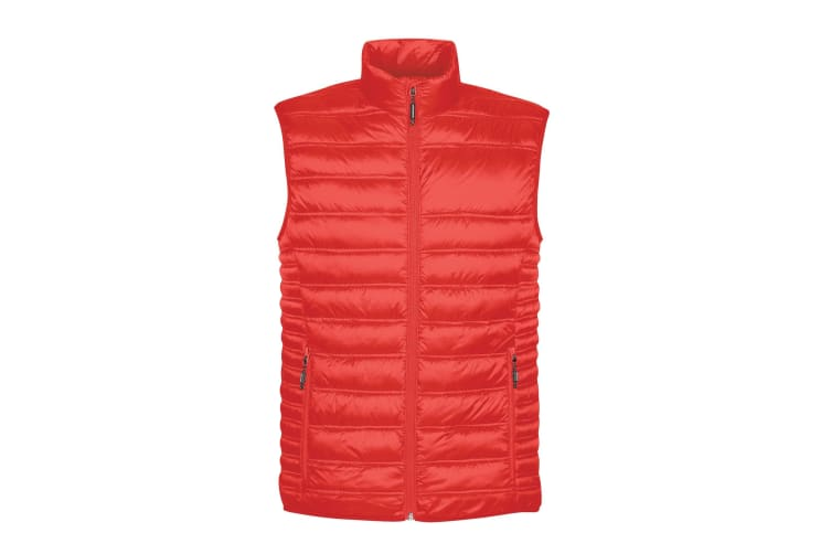 Stormtech Mens Basecamp Thermal Quilted Gilet (Red) (M)