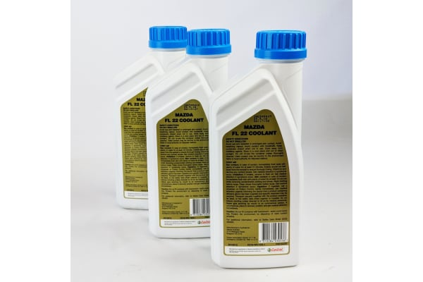 New Genuine Mazda 3 Litres Long Life Coolant Concentrate 3L K018W0122L1