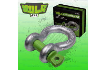 HULK BOW SHACKLE 4.75 TONNE 19x22 TOW BAR D WINCH SNATCH 4X4 4WD RECOVERY NEW