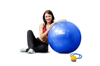 HPF Blue 55cm Yoga Gym Ball