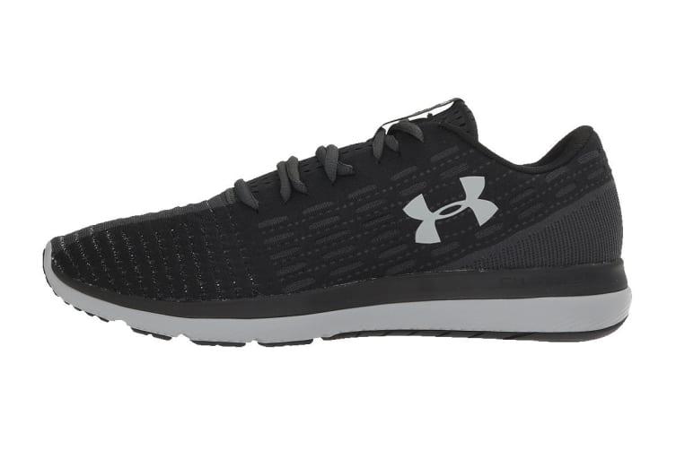 Under Armour Men's Threadborne Slingflex Shoe (Black/Anthracite, Size 11)