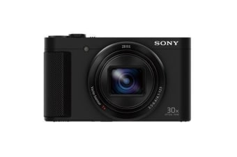 Sony DSCHX90V High Zoom Digital Compact Camera with 180 Degrees Tiltable LCD Screen and View Finder