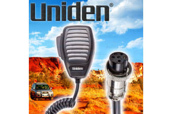 Uniden Replacement Microphone & Cable & 6 Pin Plug For Uh095-Sx Uhf Radio Mk641