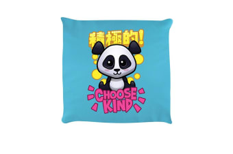 Handa Panda Choose Kind Cushion (Sky Blue)