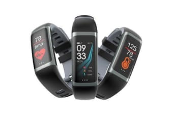 Outdoor Sports Smart Wristband G26 Fitness Activity Heart Rate Blood Pressure Smart watch - Black