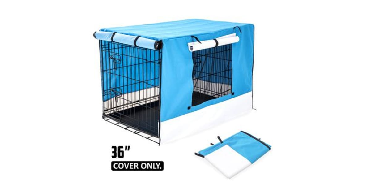 36quot cover for wire dog cage blue kogancom