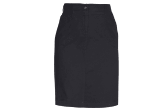 Brook Taverner Womens/Ladies Austin Chino Skirt (Black)