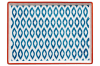 Ladelle Mosaic Painted Serving Tray Ikat