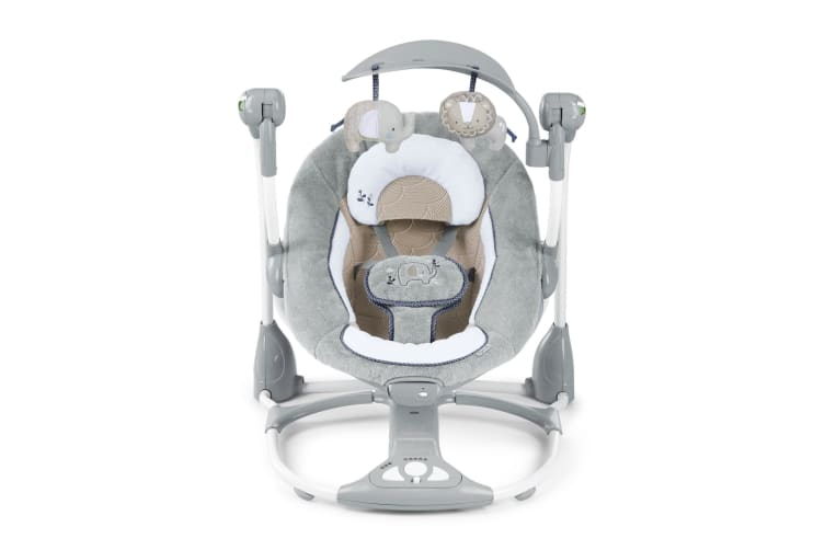 Ingenuity DreamComfort ConvertMe Swing-2-Seat Portable Swing Baby Townsend