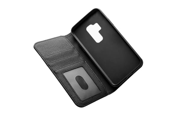 Cygnett CitiWallet Leather Case for Samsung Galaxy S9 Plus - Black (CY2423WALCI)