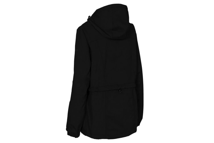 Trespass Womens/Ladies Cruella Waterproof Jacket (Black) (XS)