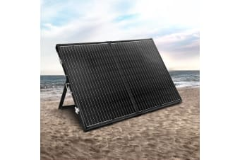 12V 300W Folding Solar Panel Kit Solar Panels System Caravan Charge Regulator