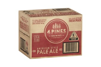 4 Pines Pale Ale  Beer 12 x 500mL Bottles