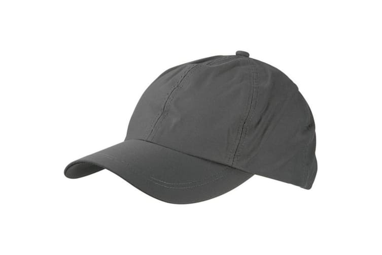 Myrtle Beach Adults Unisex 6 Panel Outdoor Sports Cap (Anthracite) (One Size)