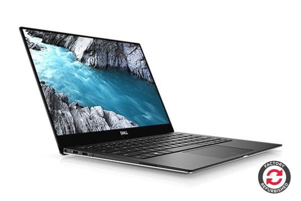 "Dell XPS 13 9370 13.3"" 4K Touch Screen Laptop (i5-8250U, 8GB RAM, 256GB, Silver) - Certified Refurbished"