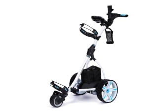 THOMSON Golf Buggy Electric Trolley Automatic Motorised Foldable Cart Powered