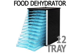 Commercial Food Dehydrator Dryer Preserver 12 Trays