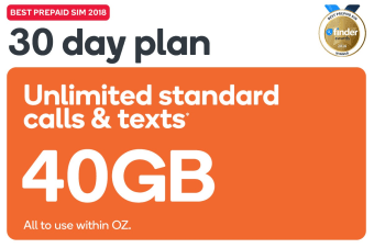 Kogan Mobile Prepaid Voucher Code: EXTRA LARGE (30 Days | 23GB) - No SIM