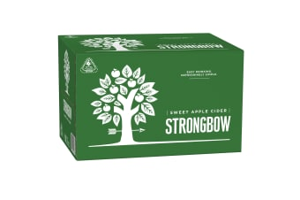 Strongbow Sweet Apple Cider 24 x 355mL Bottles
