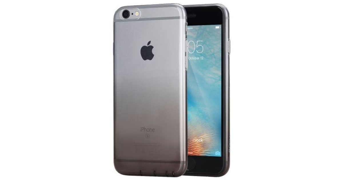 on sale e0151 feecd For iPhone 6S PLUS 6 PLUS Case Gradually Changing Color Cover Black | Phone  Cases