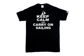 Ocean Bound Sailing Tee - Keep Calm And Carry On Mens T-Shirt