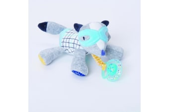 Bubble Pacifier Soother Holder Flash the Fox