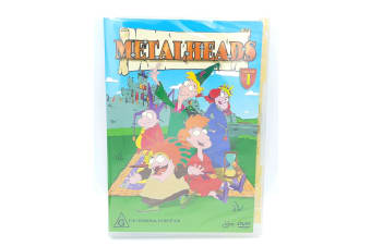 METALHEADS VOLUME 1 Kid's Children -Animated Rare- Aus Stock DVD NEW