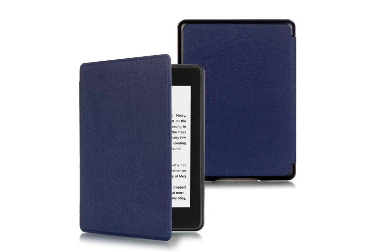 Magnetic Cover Protective Shell Smart Case For All-new Kindle 10th Gen 2019-Dark Blue