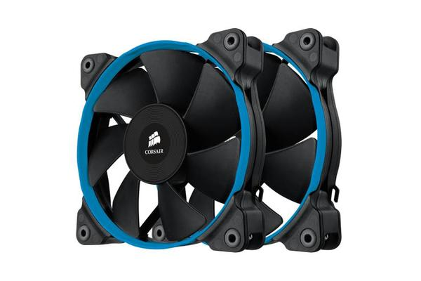 Corsair SP 120mm Quiet Fan High Statice Pressure Twin Pack!