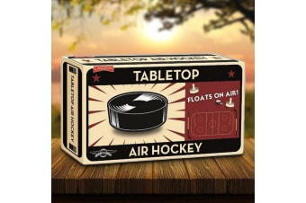 Tabletop Air Hockey: Works On Any Flat Surface!