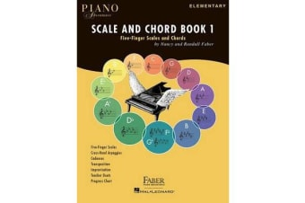 Piano Adventures - Scale And Chord Book 1 - Five-Finger Scales And Chords