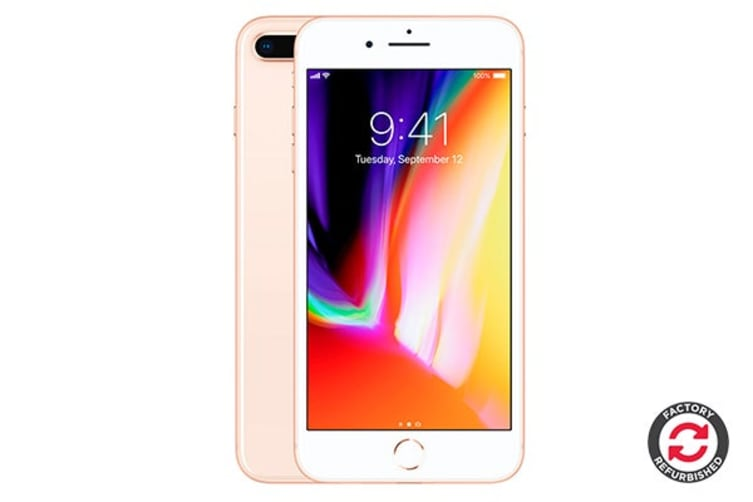 Apple iPhone 8 Plus Refurbished (64GB, Gold) - A Grade