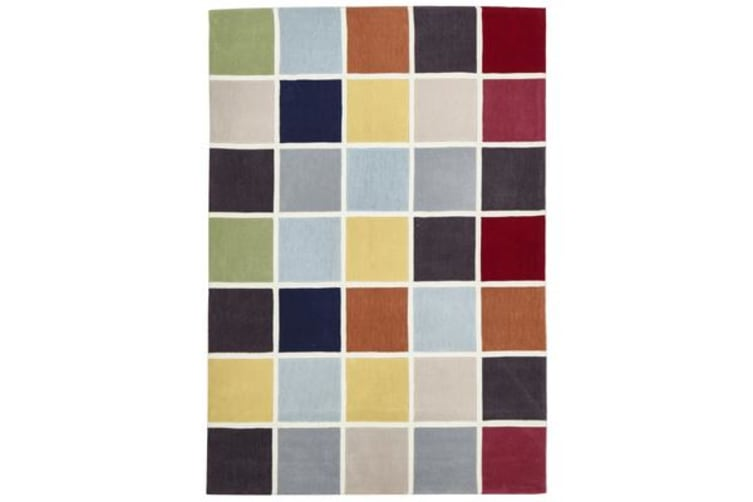 Cubed Awesome Multi Coloured Rug 280x190cm
