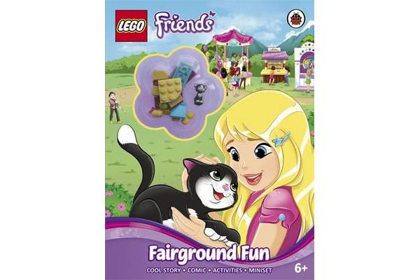 LEGO Friends - Fairground Fun Activity Book with Miniset