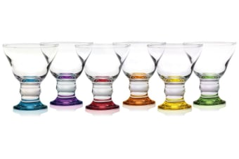 Classica Sorbet Colour Dessert Cup Set Of 6