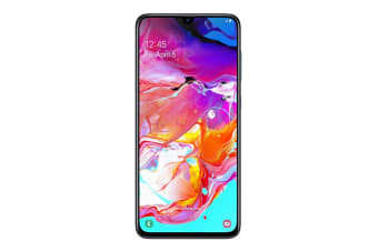 Samsung Galaxy A70 Dual SIM (6GB RAM, 128GB, Black) - Pre-owned