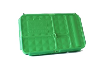 Go Green Original Lunch Box and Drink Bottle Green