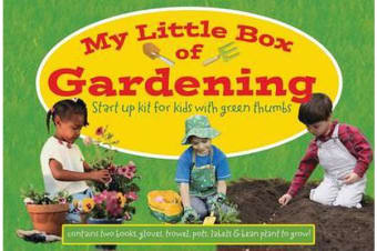 My Little Box of Gardening - Startup Kit for Kids with Green Thumbs