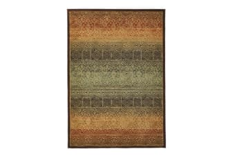 Tribal Design Rug Brown