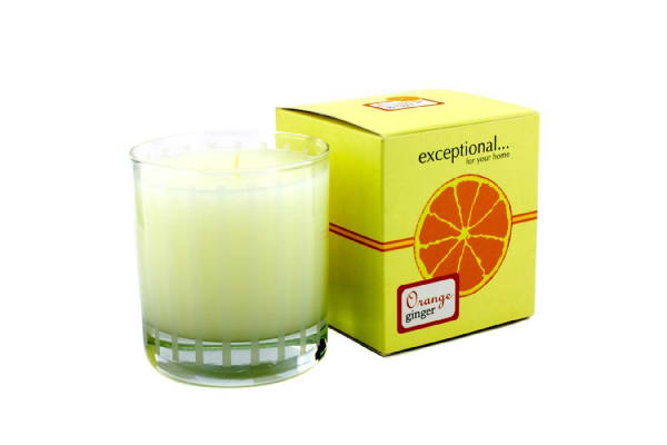 Exceptional Parfums Fragrance Candle - Orange Ginger (227g/8oz)