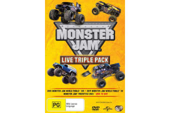 Monster Jam Live Triple Pack DVD Region 4